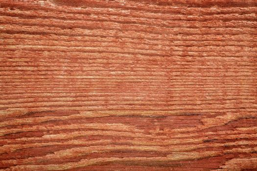 stained red weathered barn wood background  texture - macro shot