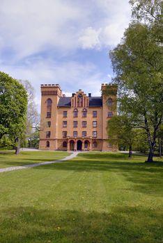 The palace of Bogesund in Sweden.