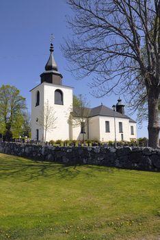 Östra Ryds church in Stockholm, Sweden.