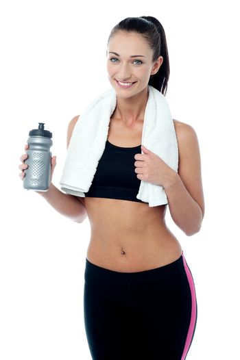 Take some water after workout.
