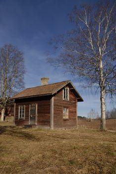 An abandon house in Borlänge Dalarna (Sweden).