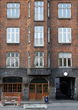 Brick buildings in Copenhagen