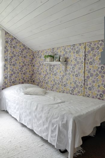Bedroom in a Swedish country house