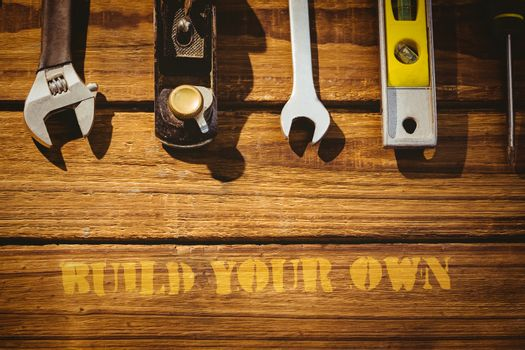Build your own against tools on desk