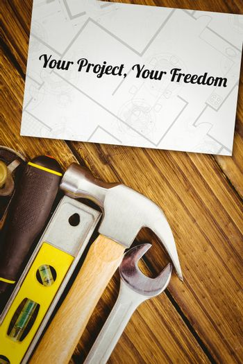 Your project, your freedom against white card