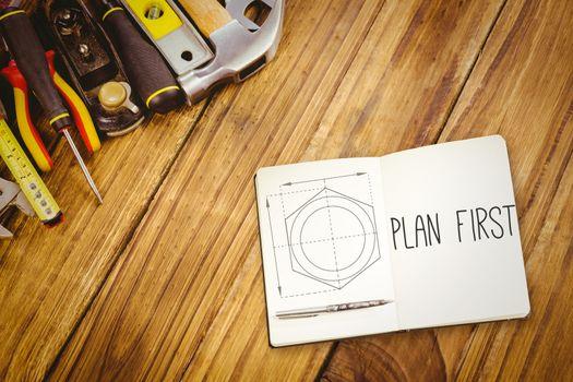 Plan first against blueprint