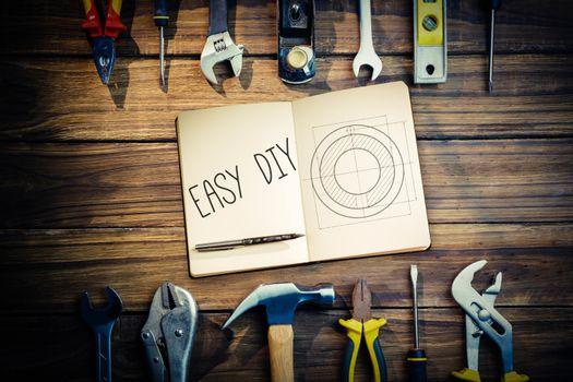 Easy diy against blueprint