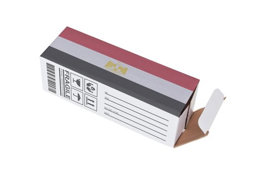 Concept of export - Product of Egypt
