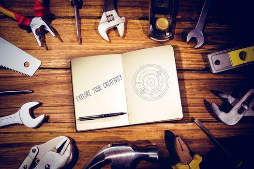 Explore your creativity against blueprint