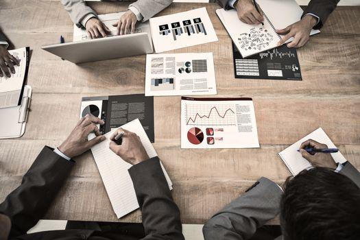Composite image of brainstorm