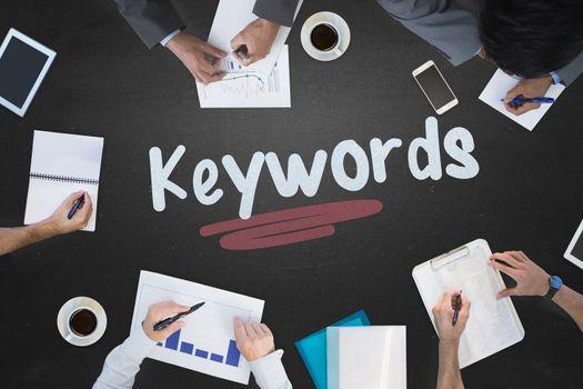Keywords against blackboard
