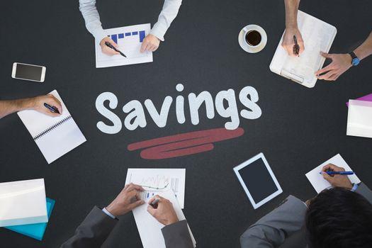 Savings against blackboard