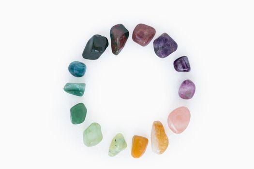 Colorful stones for alternative medicine