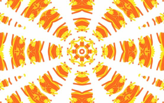 Abstract background with bright concentric pattern for design