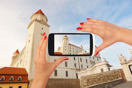 Bratislava castle tourism