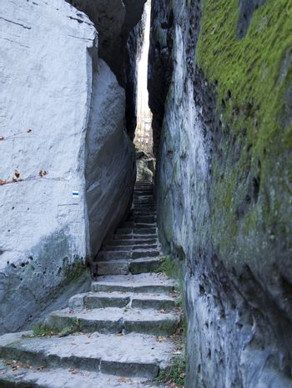 Bohemian Paradise - Rocks Stair - Narrow Path