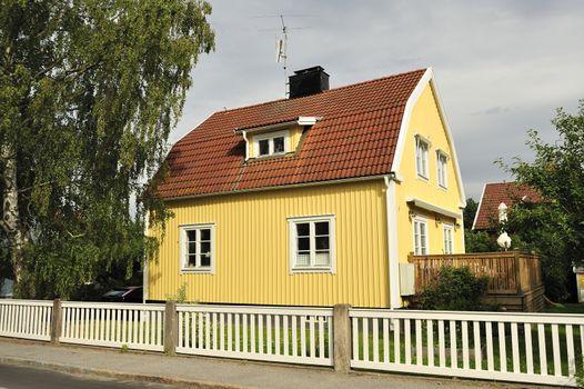 Swedish housing in Mälarhöjden.