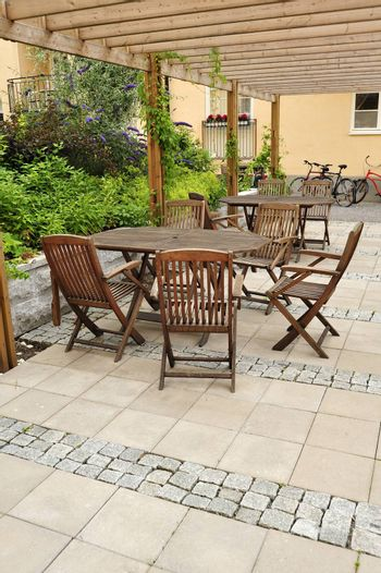 Stamped Concrete Patio in neighborhood