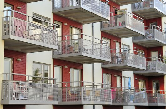 Modern condominium in Sweden.