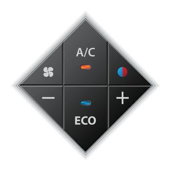 Car auto climatronic gauge