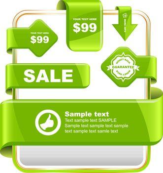 Design elements for sale. Business illusrtation. Usable for different business design.