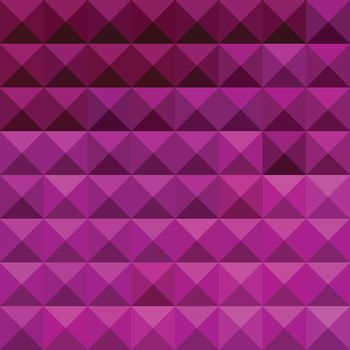 Low polygon style illustration of a byzantine purple abstract geometric background.