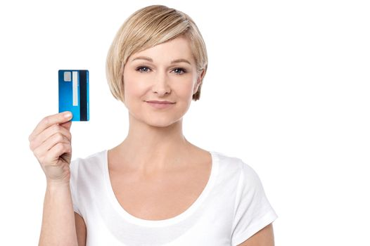 Shop easy with credit card !