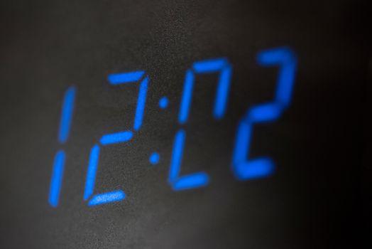 LED digital clock.