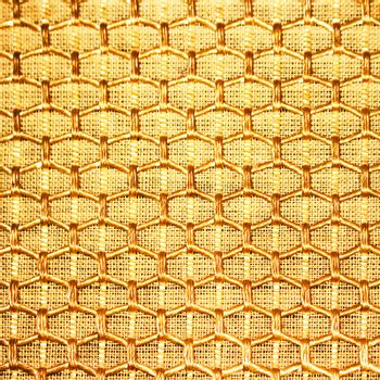 Golden net and texture background