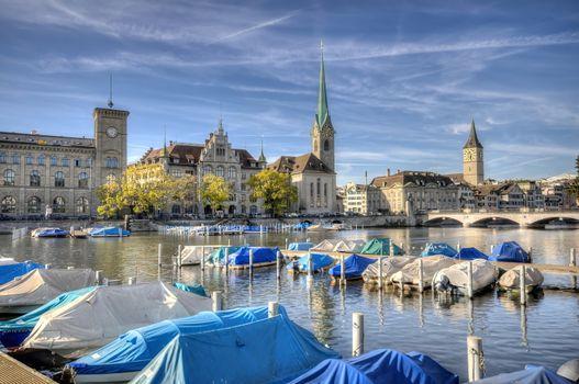 Center of Zurich, Switzerland