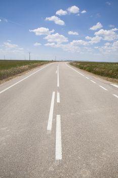 road through curve