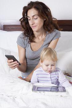 family in device