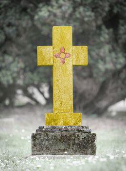 Gravestone in the cemetery - New Mexico