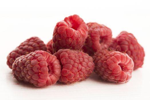 Heap of raspberry