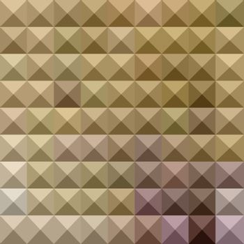 Burlywood Brown Abstract Low Polygon Background