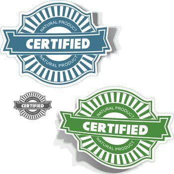 Sticker set for design. Usable for different business design.