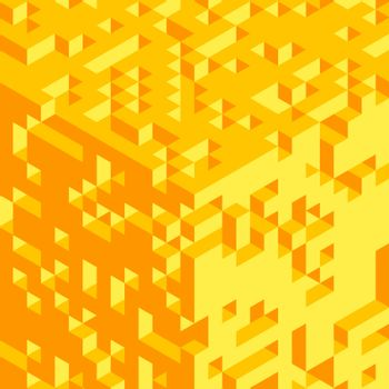 Abstract 3d geometrical background. Mosaic. Vector illustration. Can be used for wallpaper, web page background, web banners.