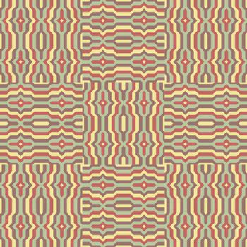 Seamless pattern. Template for design. Can be used as decoration backgrounds, package, covers and textile. Mosaic vector illustration.