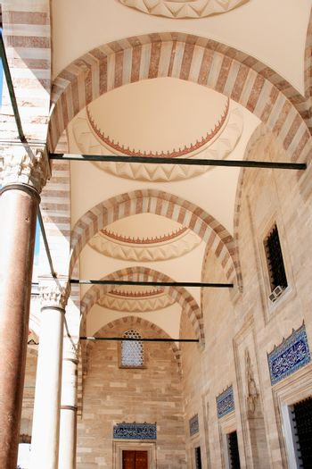 Colonnade In Mosque