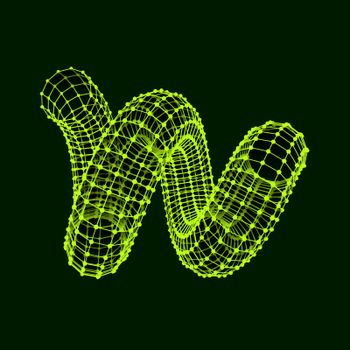 Spiral. 3d vector illustration. Can Be Used For Design And Presentation.