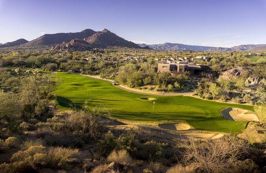 Arizona Desert Golf Course