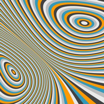 Abstract swirl background. Pattern with optical illusion. Vector illustration. Can be used for wallpaper, web page background, web banners.