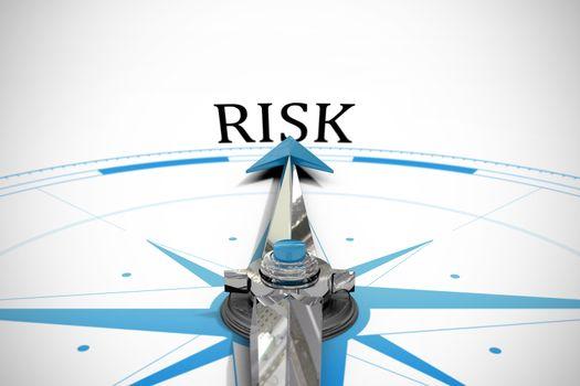 Risk against compass arrow