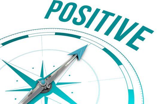 Positive  against compass