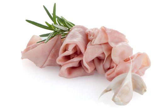 Fresh shaved ham