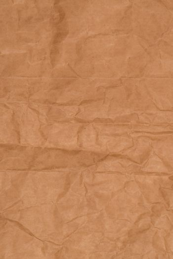 Crumpled recycled paper
