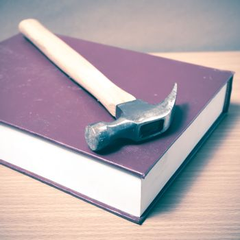 book with hammer