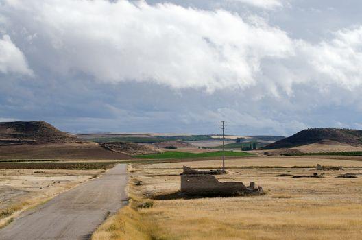 Landscape of Valladolid Province