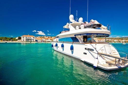 Yachting in tourist destination of Primosten