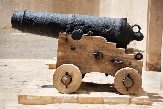 Historic cannon Oman